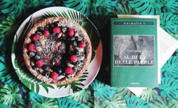 """Ricette per i libri: torta vegana al cioccolato per """"Al di là delle parole"""""""
