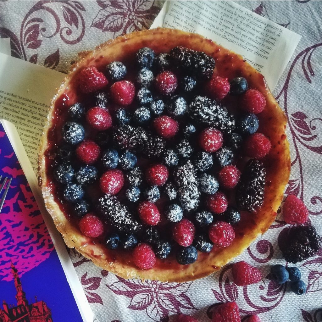 cheese cake ai frutti rossi
