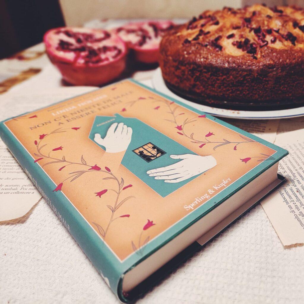 torta mele noci e melograno