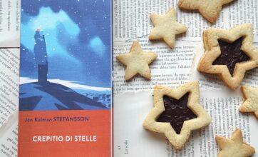 """Ricette per i libri: biscotti senza burro per """"Crepitio di stelle"""""""