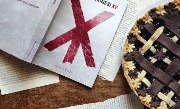 Ricette per i libri: crostata XY in onore di Sandro Veronesi